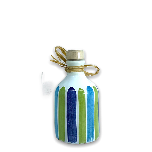 Orcio 250 ml pennellato blu verde