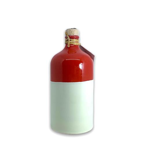 Orcio 500 ml bicolore rosso avorio