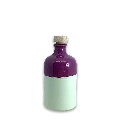Orcio 250 ml bicolore melanzana avorio