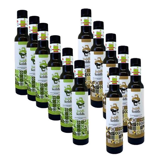Confezione da 12 bottiglie da 0,25 litri, SELEZIONE EXTRAVERGINE
