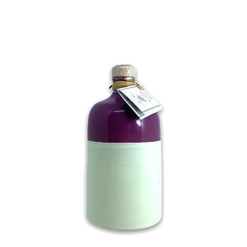 Orcio 500 ml bicolore melanzana avorio