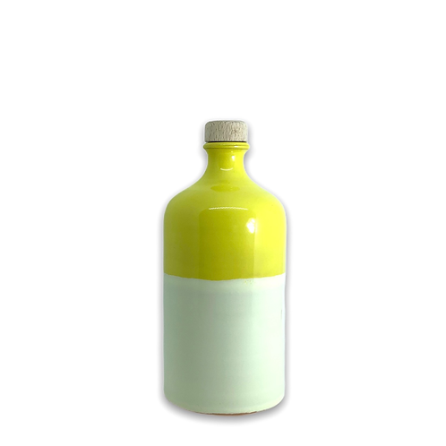 Orcio 500 ml bicolore giallo avorio