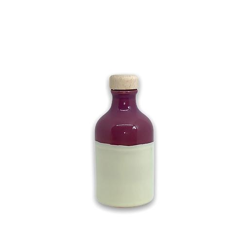 Orcio 100 ml bicolore melanzana avorio