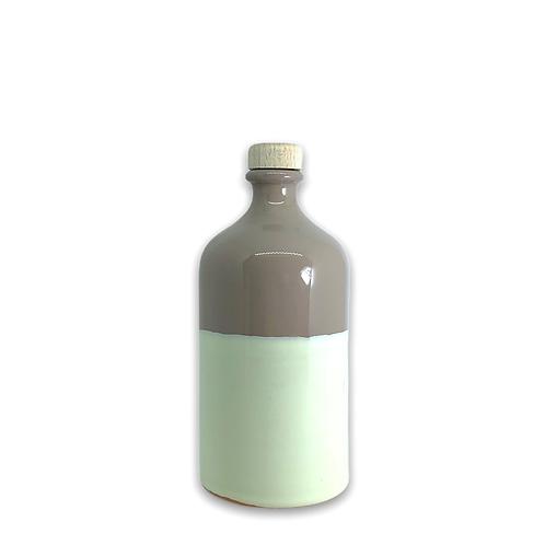 Orcio 500 ml bicolore tortora avorio