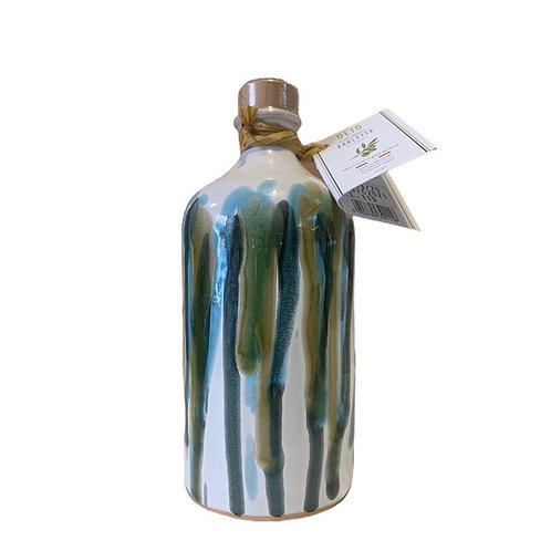 Orcio 500 ml sgocciolato blu celeste