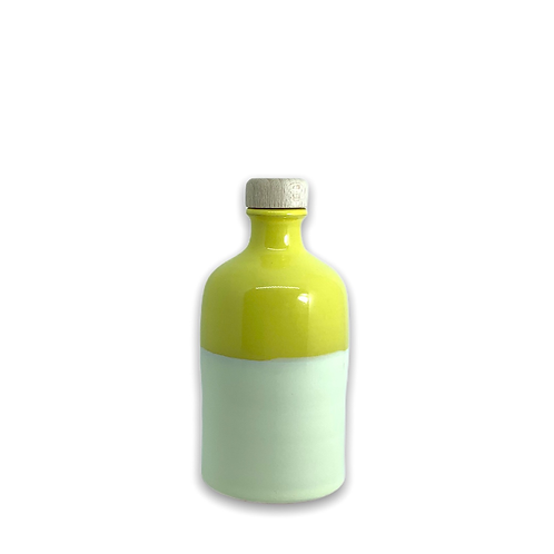 Orcio 250 ml bicolore giallo avorio