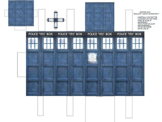 Papercraft #3 - DOCTOR WHO - TARDIS