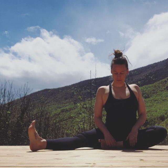 Hermione Armitage. Yoga Teacher at Leyton Yoga.