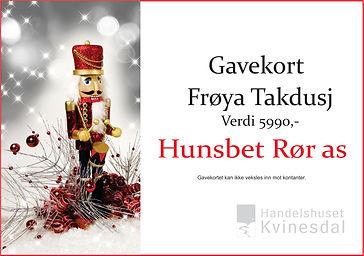 Gavekort_Hunsbedt_Rør_Julekalender`n_Kvi