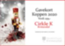Gavekort Circle K Julekalender`n Kvinesd