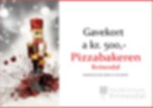 Gavekort Pizzabakeren Julekalender`n Kvi