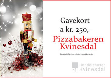 Pizzabakeren Julekalender`n Kvinesdal