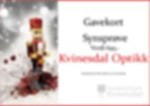 Gavekort Kvinesdal Optikk julekalender`n