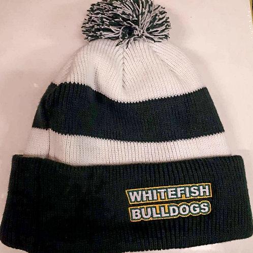 Whitefish Bulldog beanie hat