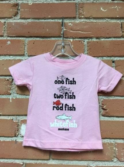 Toddler 1 Fish Pink