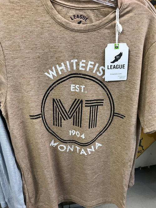 Tan Recycled Bottle Shirt
