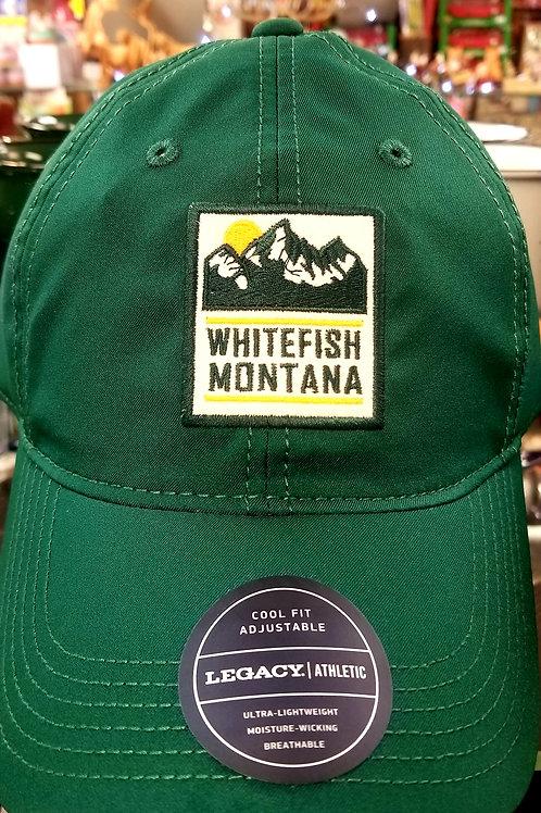 Whitefish Montana baseball hat