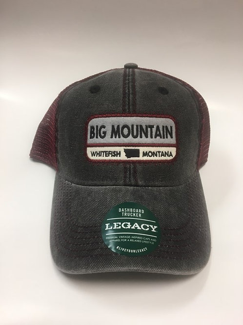 Big Mountain with State Shape