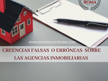 Falsas creencias sobre las Agencias Inmobiliarias.