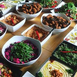 Levant Helsinki tarjoaa vegaanista ruokaa häissä Helsingissä.