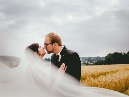 Christina & Jens - DIY Bauernhof Hochzeit