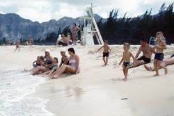 014 FSBCPH Training Union Beach Party, Bellows Beach, Windward Oahu, Hawaii, June 1961