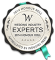 Wedding industry Experts seal