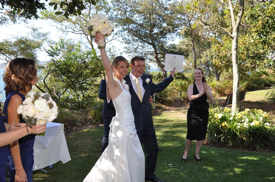 Congratulations Karen & Rus