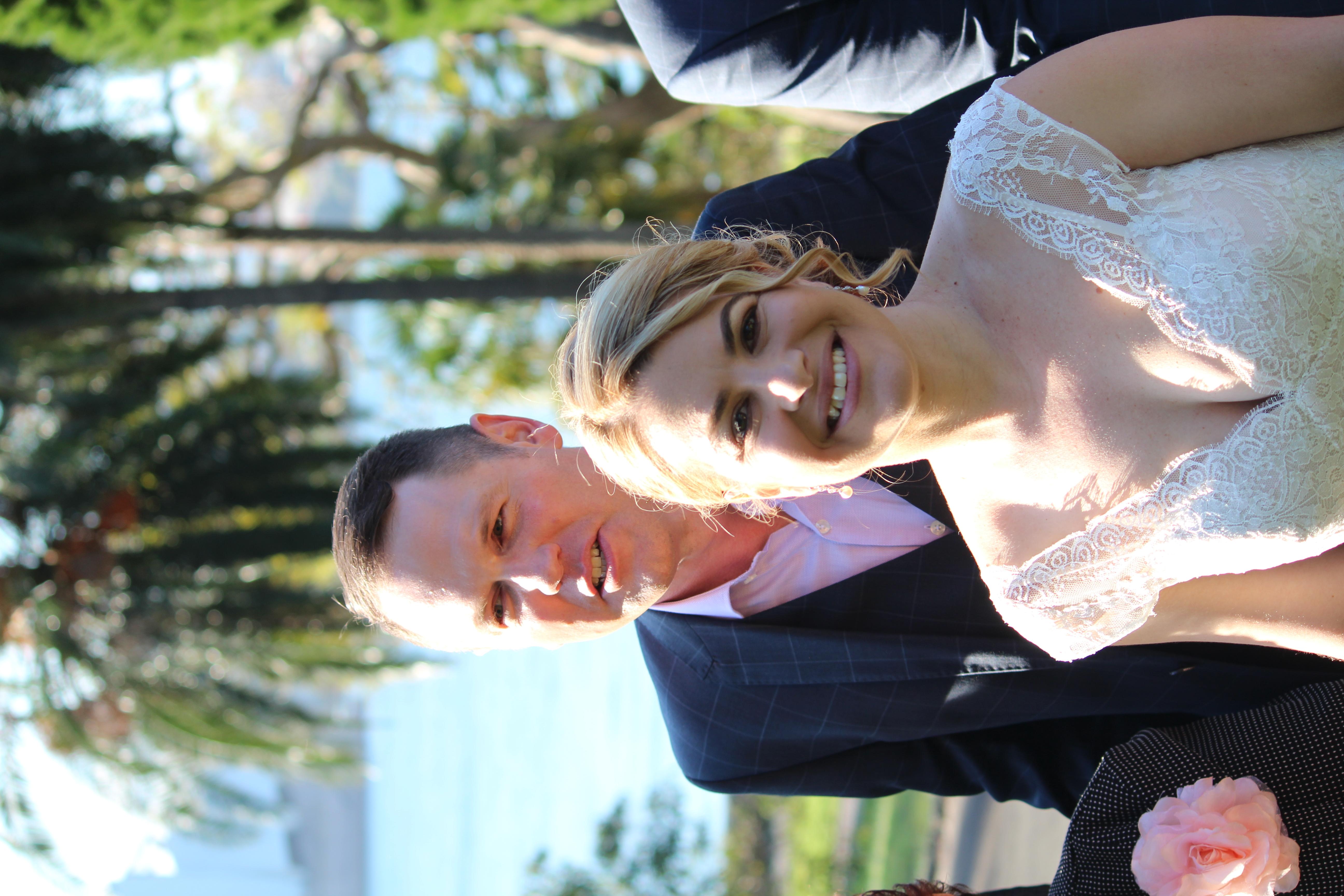 The Botanical Gardens wedding
