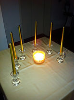 Unity Candle Ceremony, Family union, uniting two families,