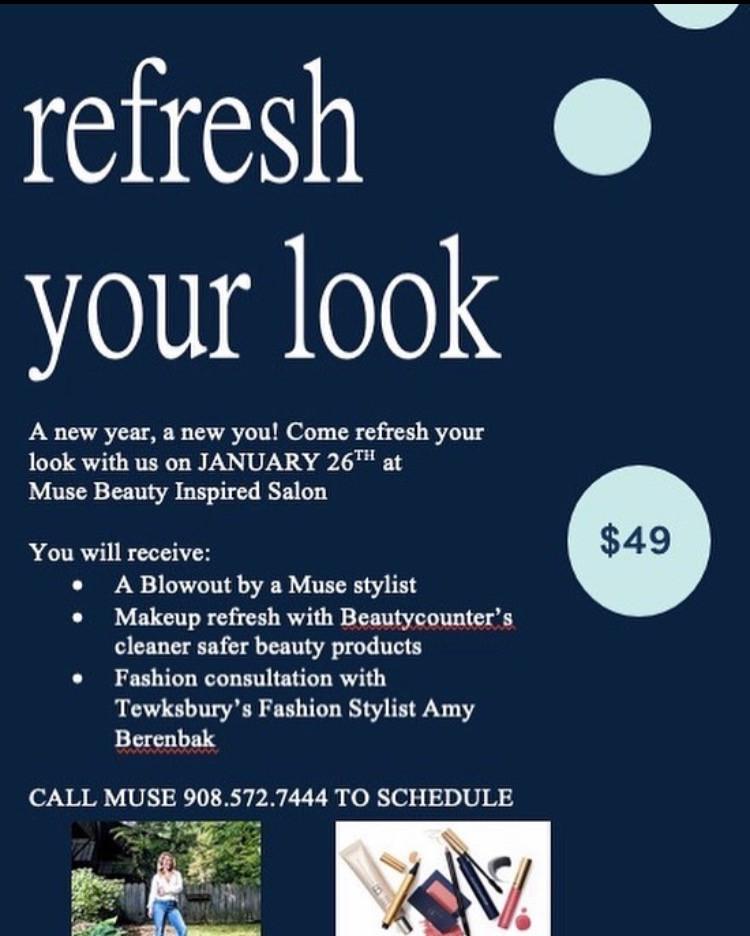 #refreshyourlook #fashion #beautycounter
