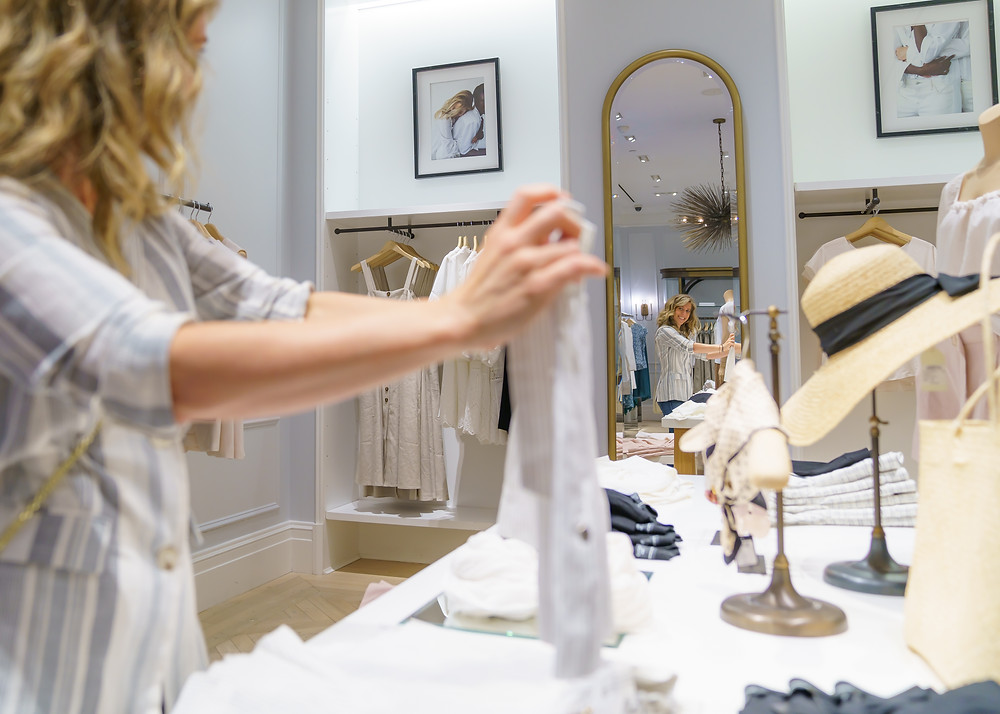 Personal Shopping at the Short Hills Mall in Club Monaco