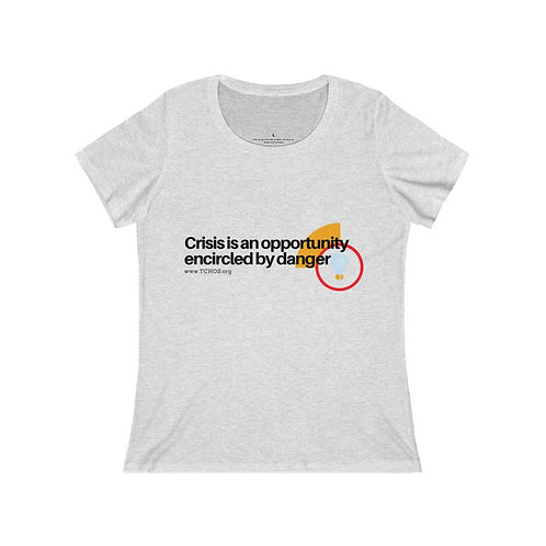 Crisis Is An Opportunity - Women's Relaxed Jersey