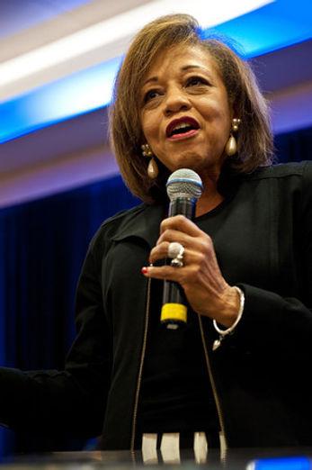 Pastor Sandra Clements Speaking