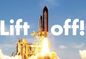 3... 2... 1... Lift off!