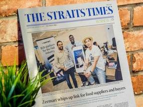 Zeemart in The Straits Times