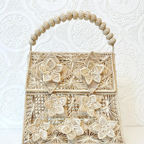 The Lady Lucia Bag- Natural