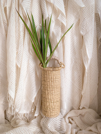 Astoria Wine Holder/Vase in Cream