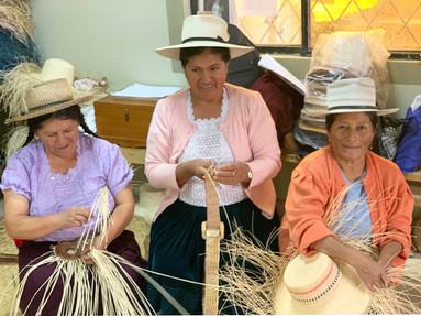 women making hats