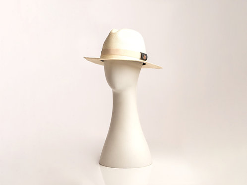 handwoven straw fedora for men and women