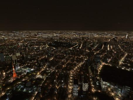 MSFS:夜間照明の表示がおかしい
