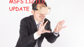 MSFS アップデート (1.12.13.0)でVR対応