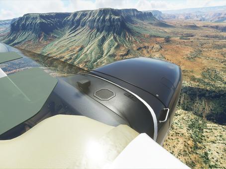 Microsoft Flight Simulatorで行く!世界遺産!グランド・キャニオン(アメリカ)編