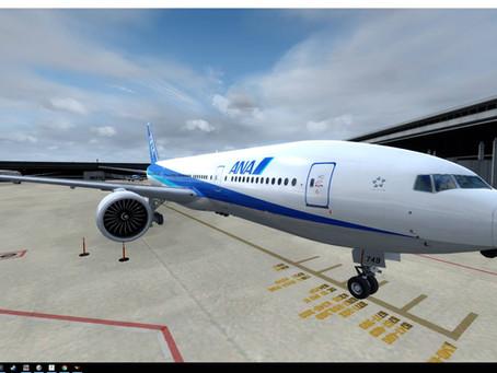 Leg.1 東京成田国際空港(RJAA)~長崎空港(RJFU)へのチャーターフライト