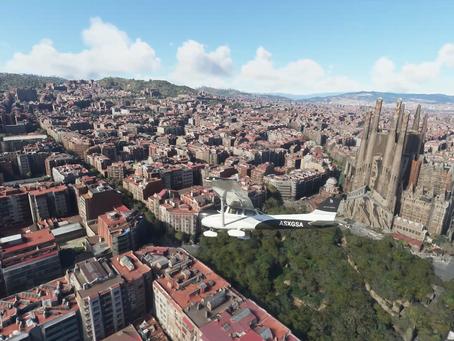 Microsoft Flight Simulatorで行く!世界遺産!サグラダ・ファミリア(スペイン)編
