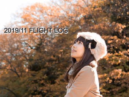 2019_11 FLIGHT LOG
