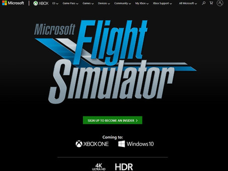 """Microsoft Flight Simulator ""発表にシム民ざわつく…"