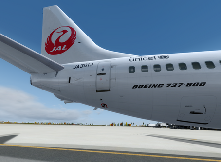Leg.2 仙台国際空港(RJSS)~福岡空港(RJFF)へのスケジュールフライト