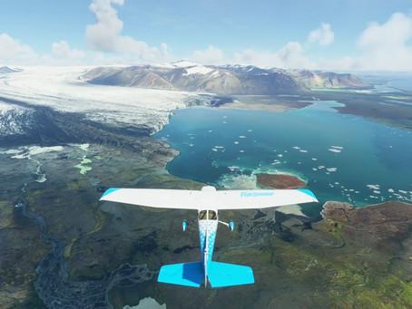 MSFS:南アイスランド沿岸飛行