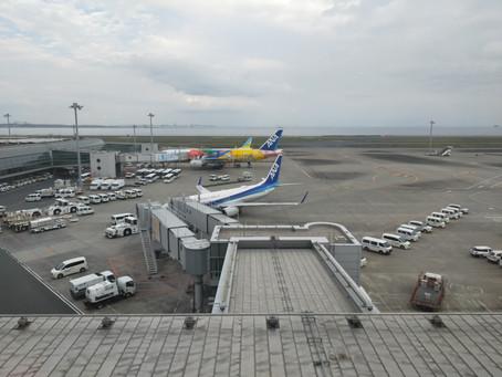羽田エクセルホテル東急&羽田空港散策